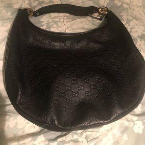 Authentic Gucci Large Twin GG Guccissima handbag